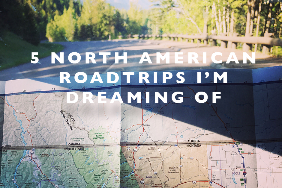 north american roadtrips