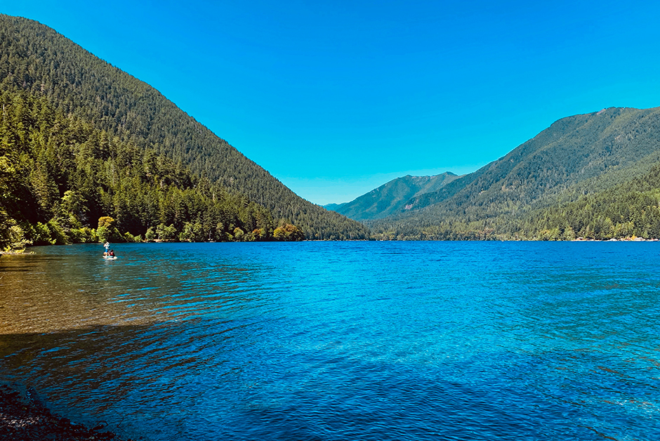 lake crescent Washington