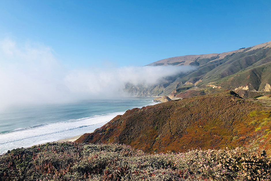 coastal views California Big Sur