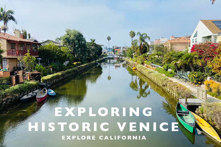 exploring historic venice in LA
