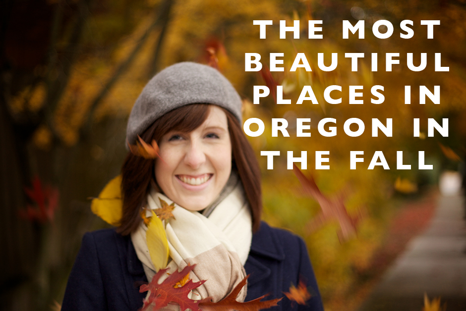 most beautiful places in oregon in the fall