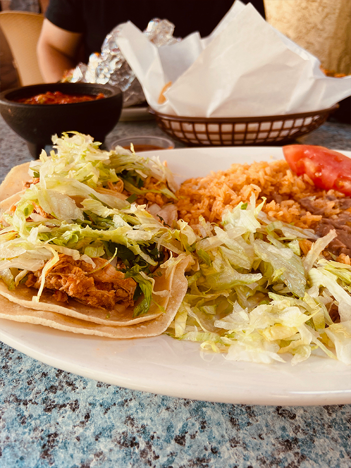 Mexican food in Ojai California