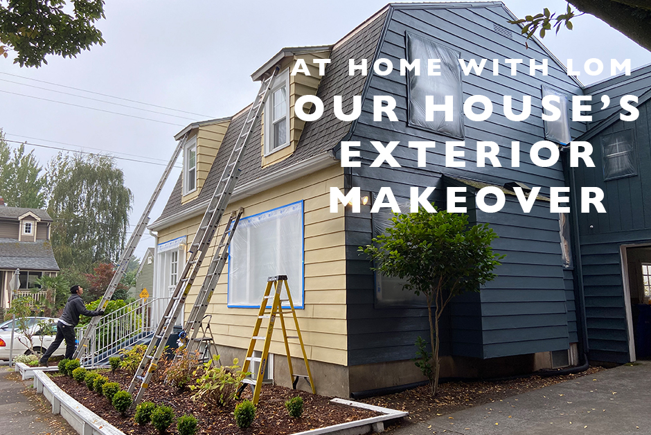 our house's exterior makeover