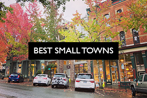 best small towns pacific nw