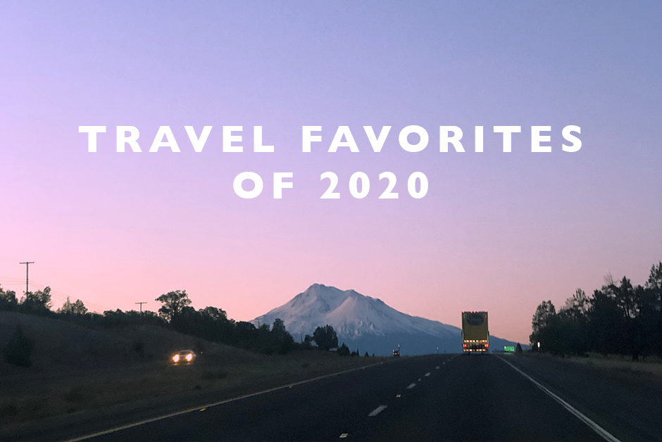 travel favorites of 2020