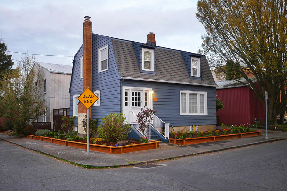 exterior makeover on 1925 dutch colonial house