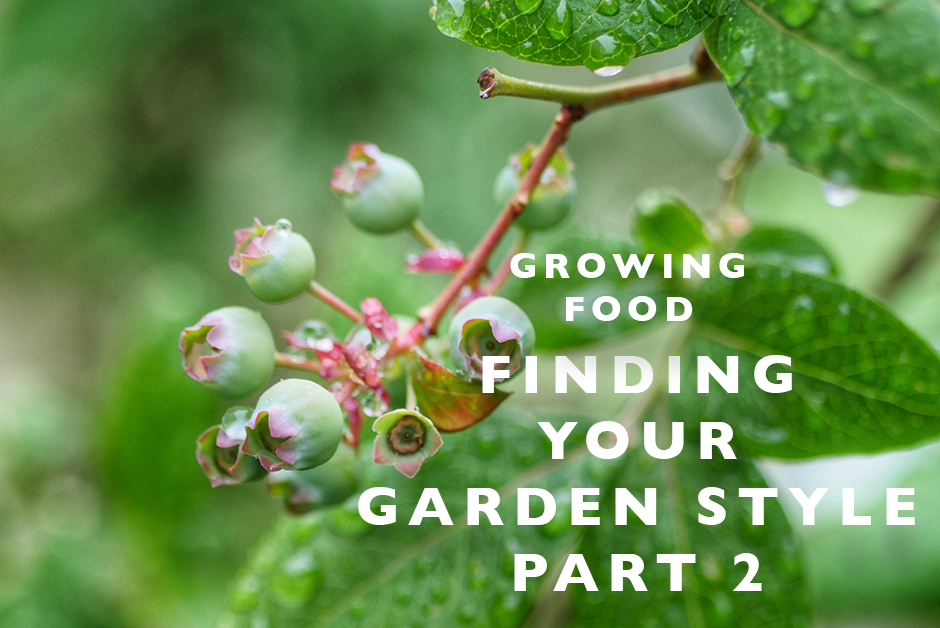 finding your garden style growing food
