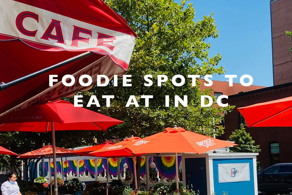 foodie spots to eat at in dc