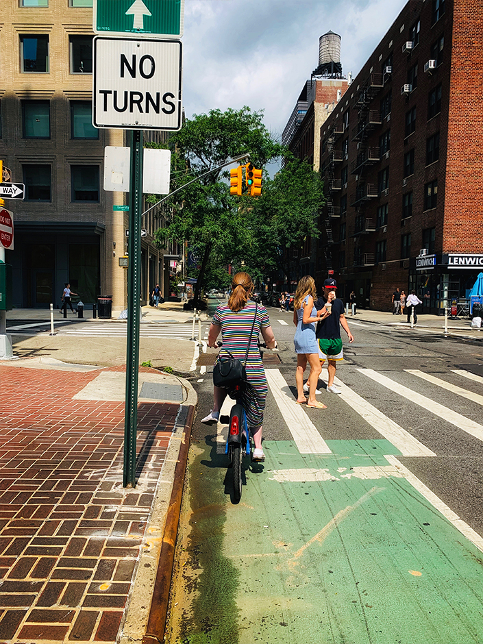 summer weekend in NYC riding citibikes