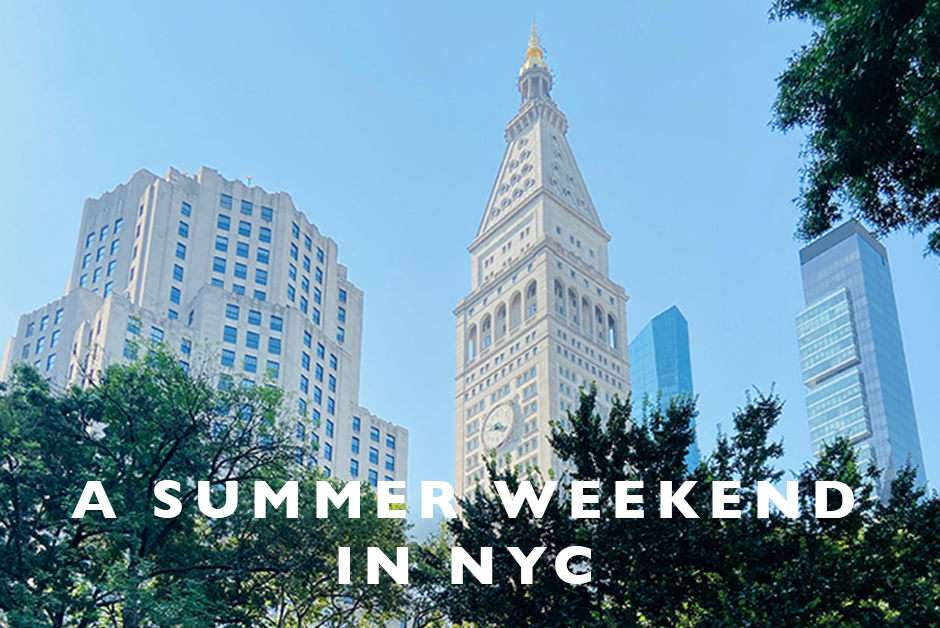 a summer weekend in nyc