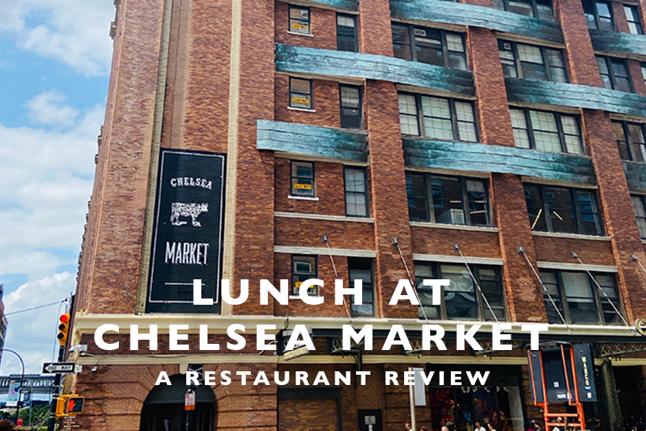 lunch at Chelsea market NYC