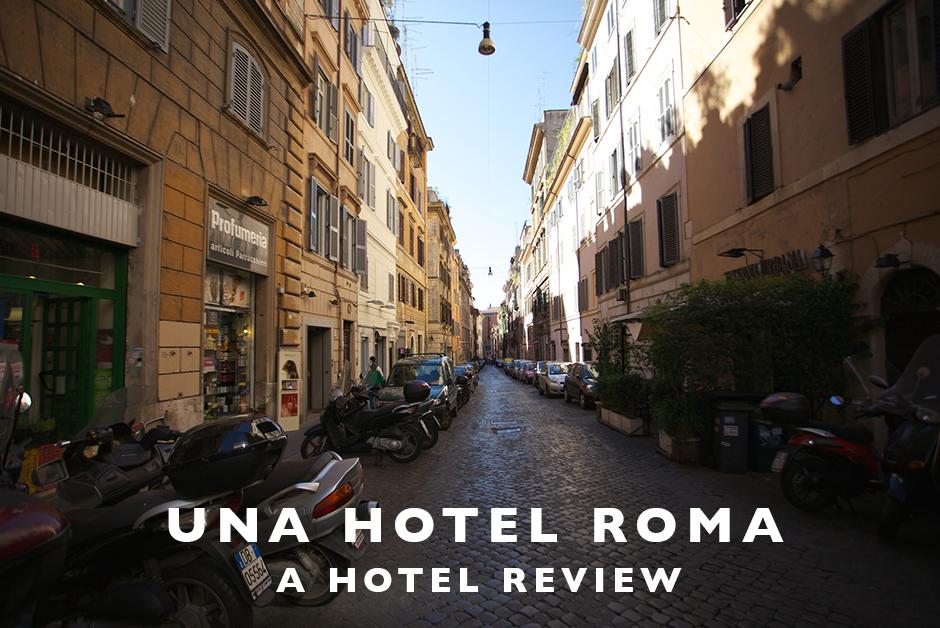 una hotel roma hotel review