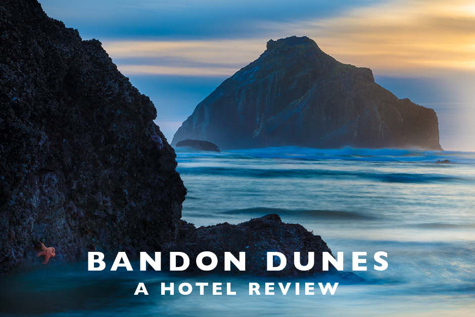 bandon dunes hotel review oregon