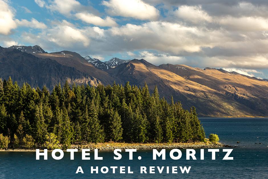 hotel st. moritz Queenstown New Zealand