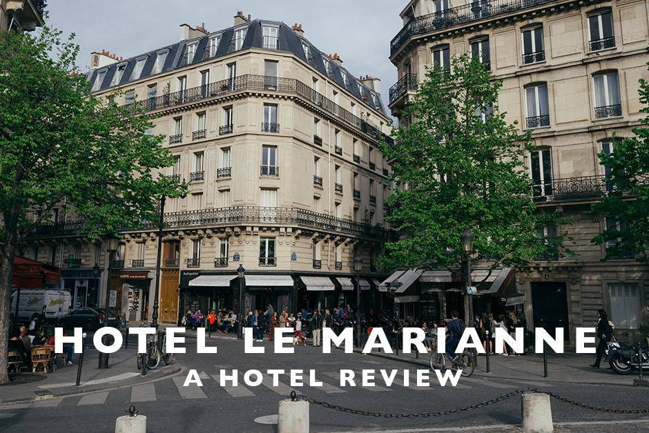 hotel le marianne paris hotel review