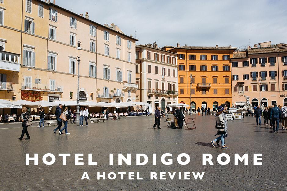 hotel indigo rome hotel review Italy