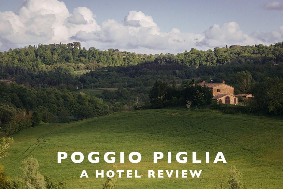 poggio piglia hotel review Tuscany italy
