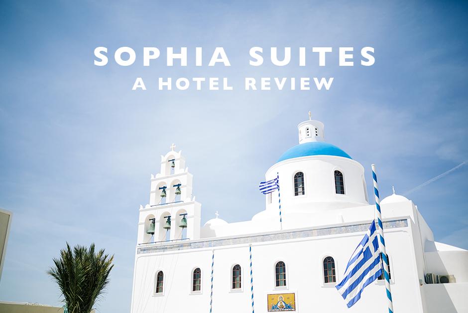 Sophia suite Santorini hotel review
