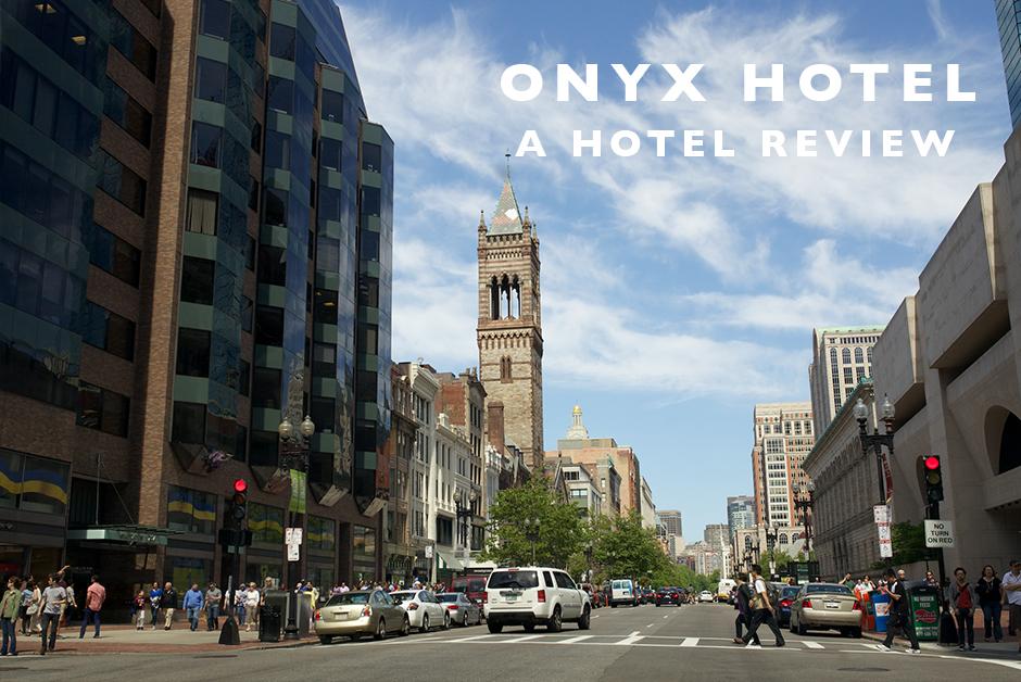 onyx hotel Boston Kimpton review