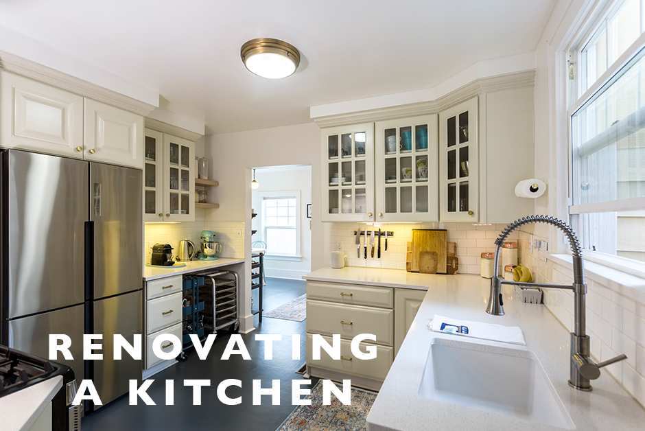 renovating a kitchen