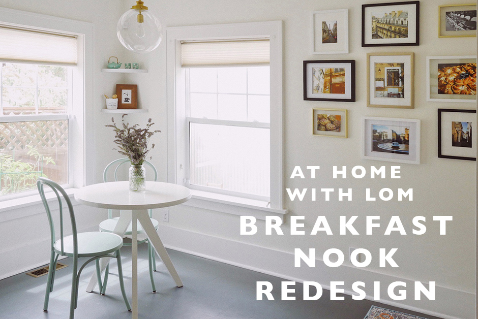 Breakfast nook redesign