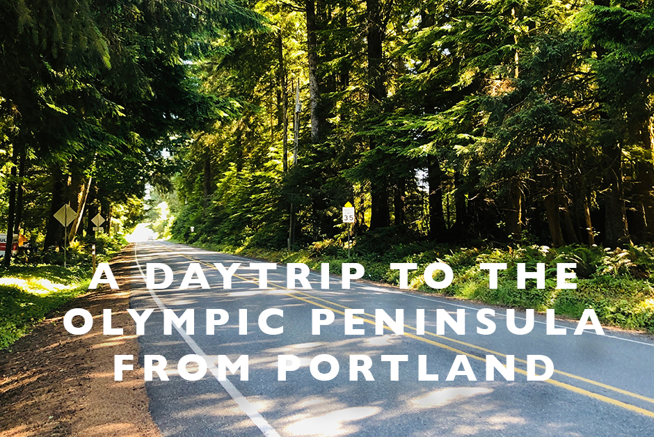 daytrip to the olympic peninsula