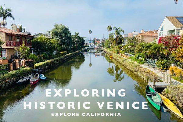 exploring historic venice in LA