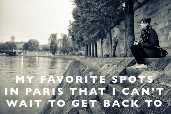 favorite spots in Paris