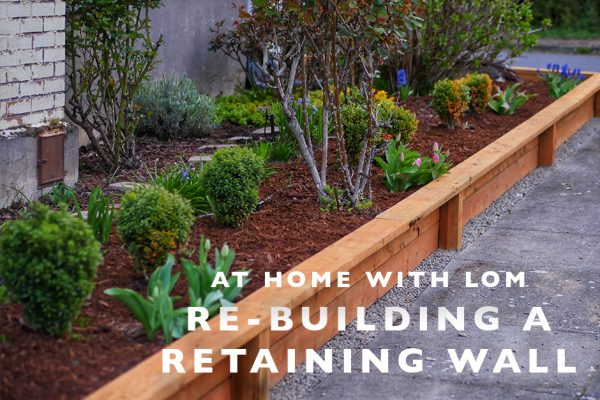 re-building a retaining wall